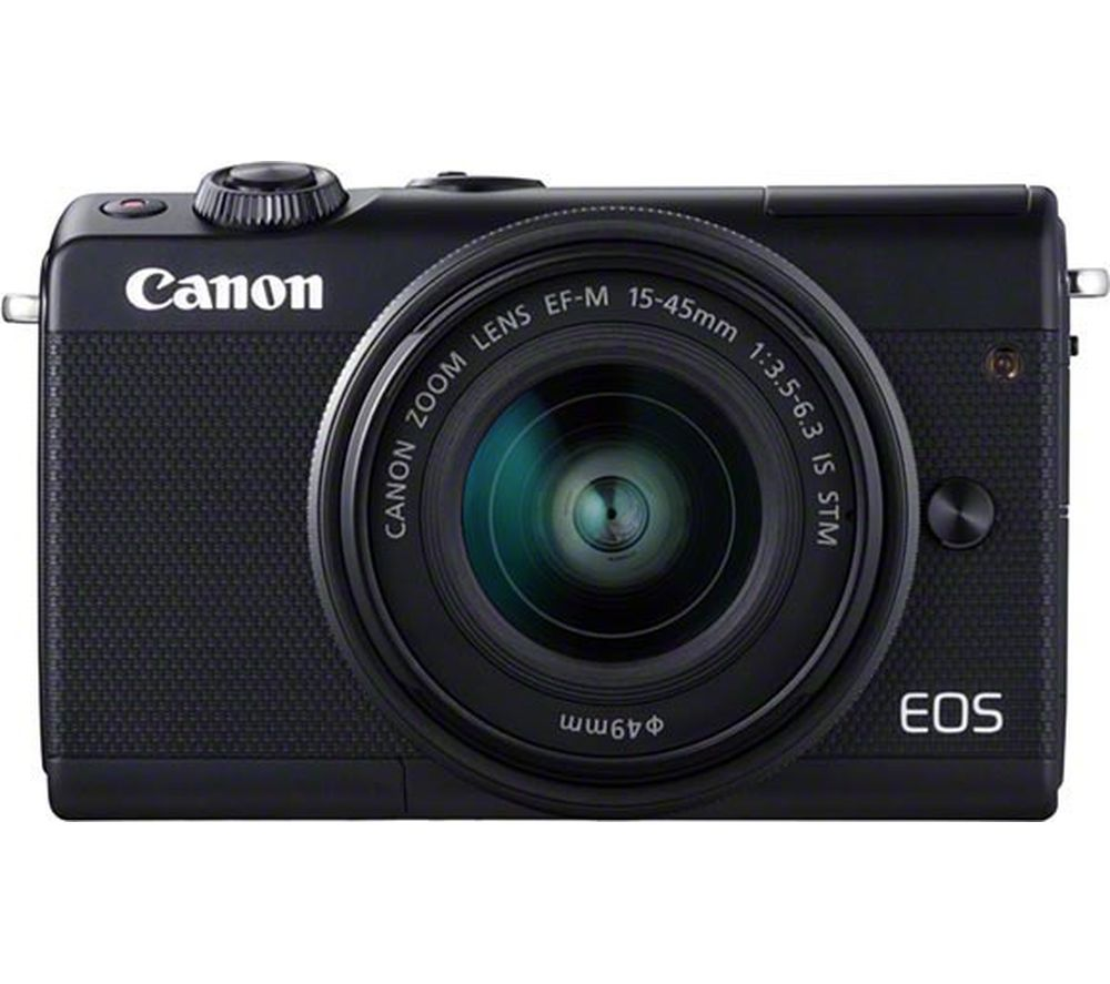 Compare prices for Canon EOS M100 Mirrorless Camera with EF-M 15-45 mm f/3.5-6.3 Lens