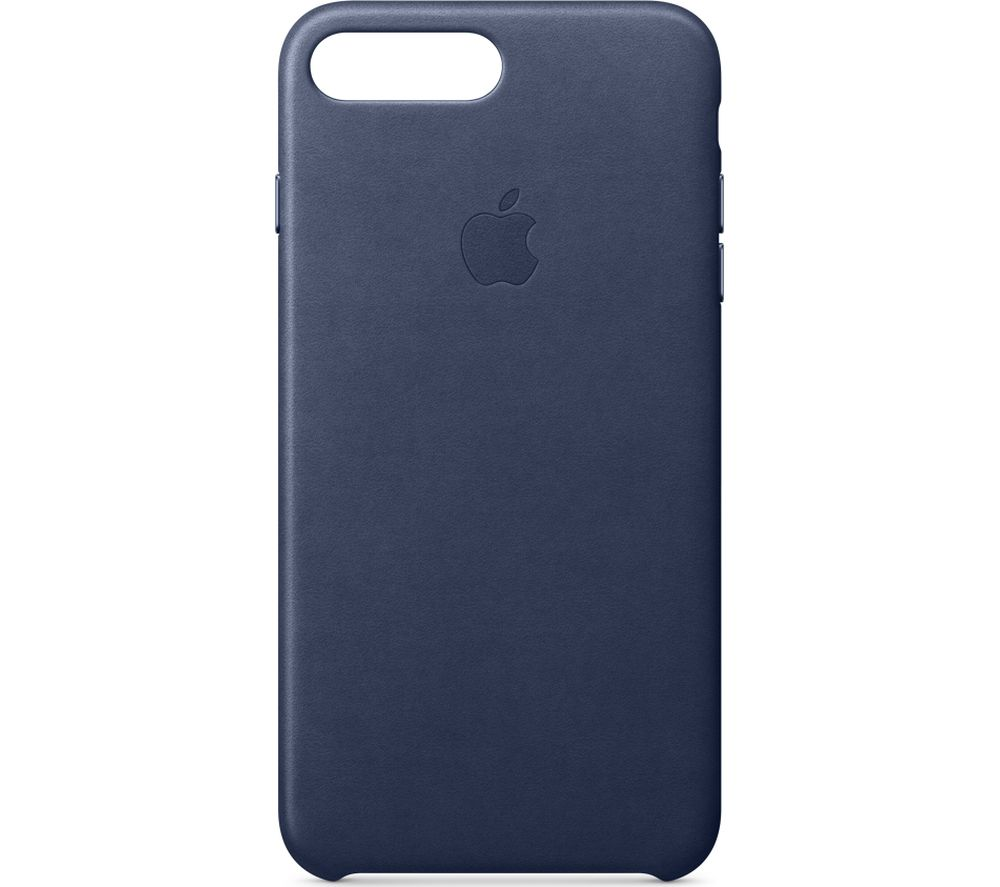 APPLE iPhone 8 & 7 Plus Leather Case - Midnight Blue, Blue cheapest retail price