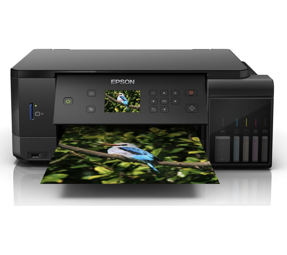 Image of EPSON Ecotank ET-7700 All-in-One Wireless Inkjet Printer