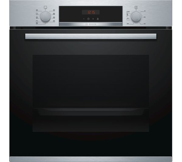 Image of BOSCH Serie 4 HBS573BS0B Electric Oven - Stainless Steel