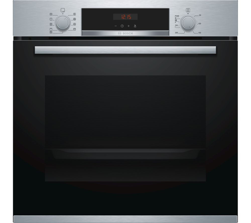 BOSCH Serie 4 HBS573BS0B Electric Oven - Stainless Steel