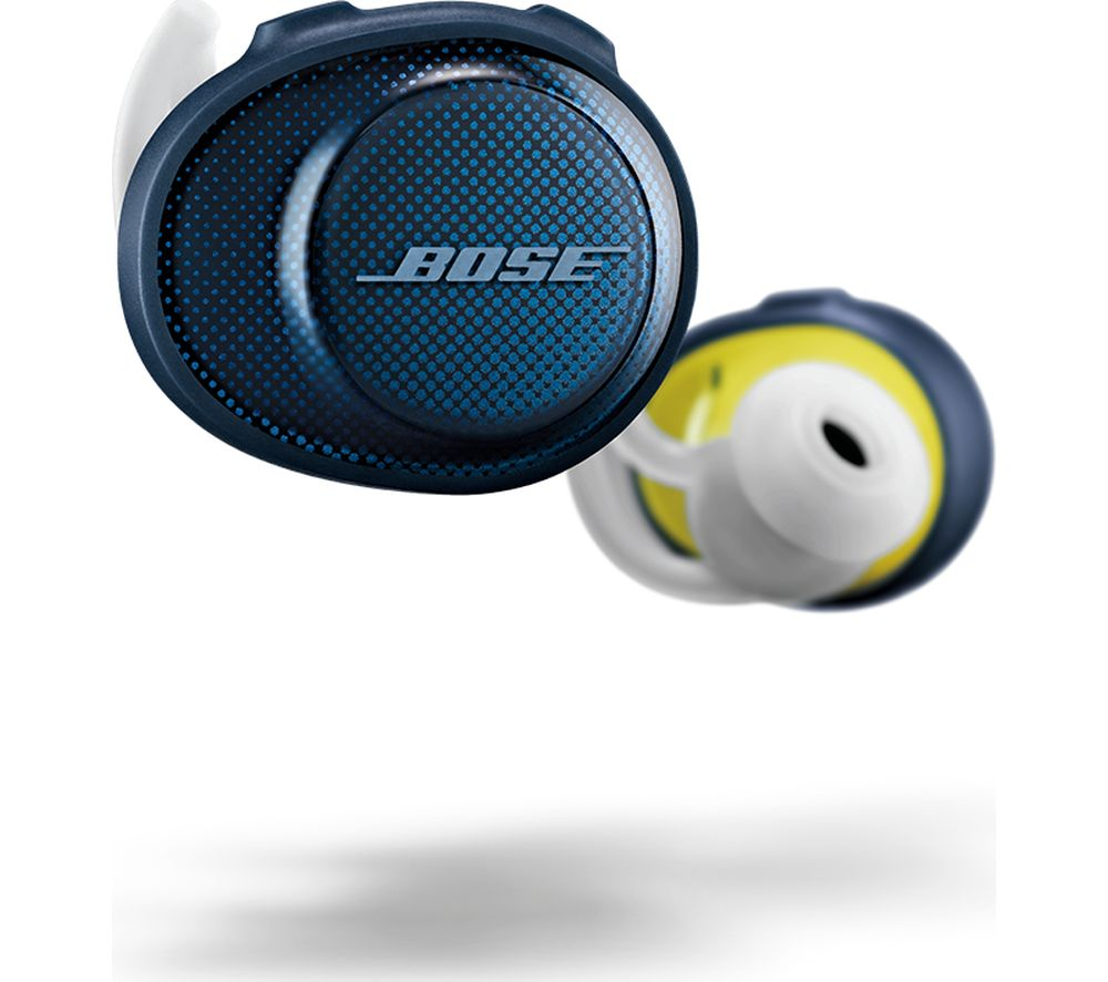 4b4b25bcb3f BOSE SoundSport Free Wireless Bluetooth Headphones - Midnight Blue Fast  Delivery