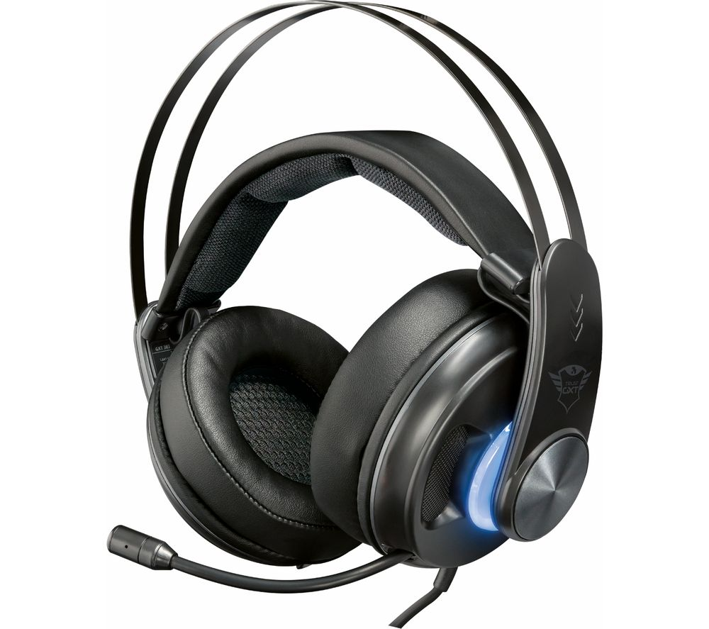 Image of TRUST GXT 383 Dion 7.1 Gaming Headset - Black, Black