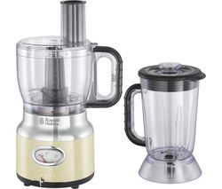Retro 25182 Food Processor - Cream