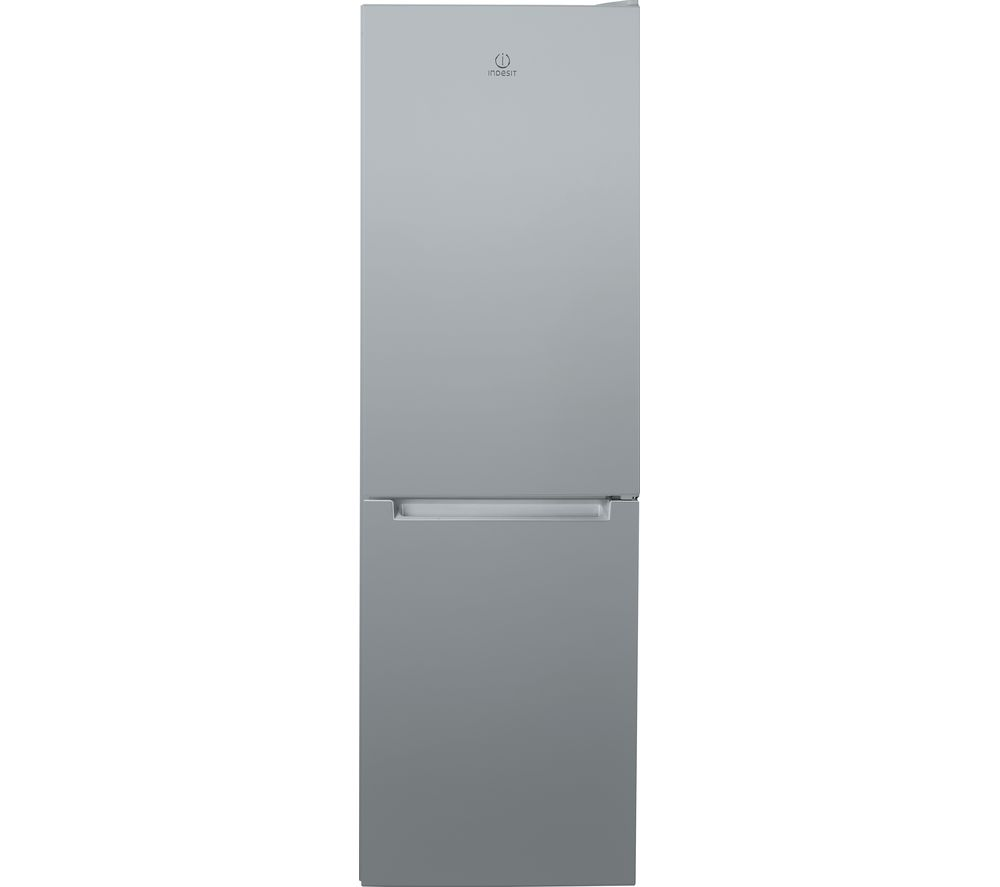 INDESIT LR8 S1 S UK.1 60/40 Fridge Freezer - Silver