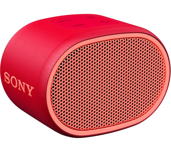 Image of SONY SRS-XB01 Portable Bluetooth Speaker - Red