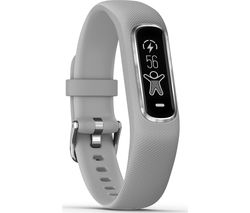 GARMIN vivosmart 4 - Silver, Small / Medium