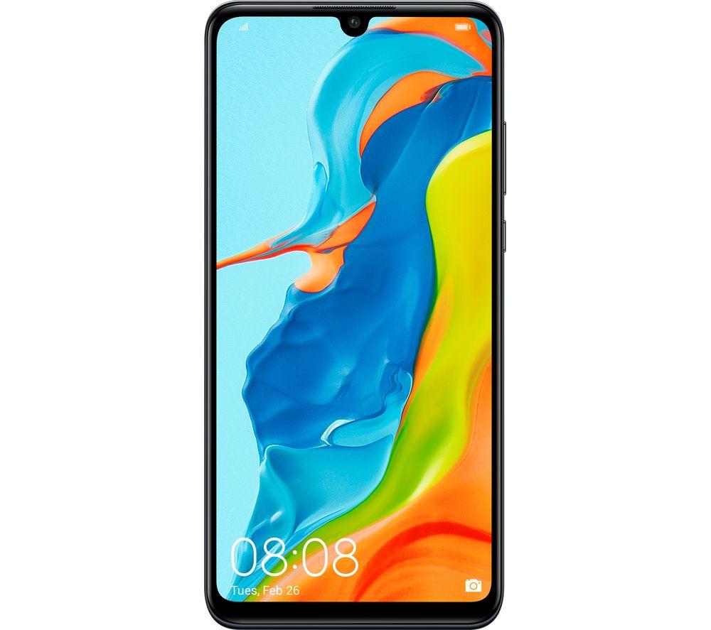 Image of Huawei P30 Lite 128GB Midnight Black SIM Free, Black