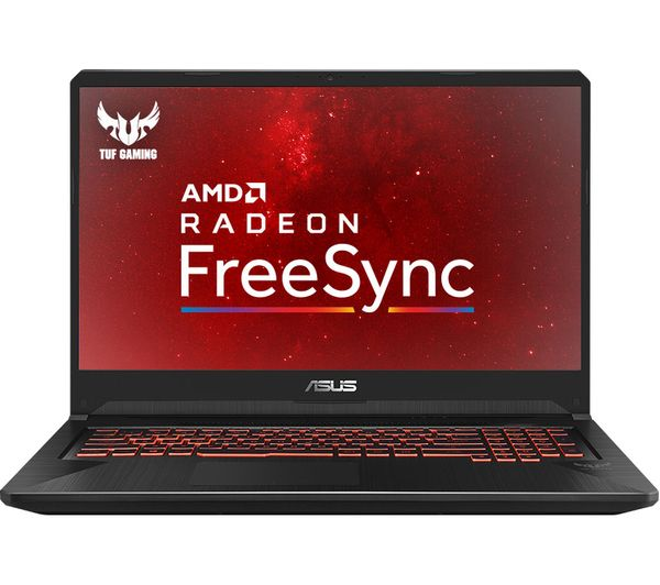 "ASUS TUF FX705DY 17.3"" AMD Ryzen 5 RX 560X Gaming Laptop - 1 TB HDD & 256 GB SSD"