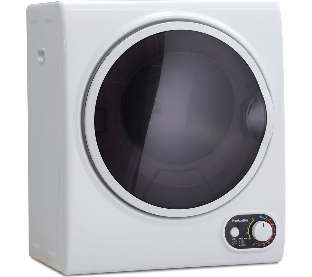 MONTPELLIER MTD25P 2.5 kg Vented Tumble Dryer - White