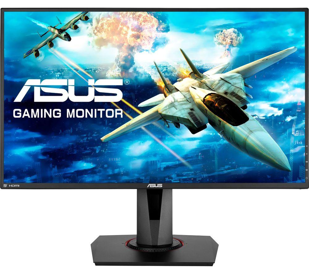 "ASUS VG278QR Full HD 27"" LED Gaming Monitor - Black"