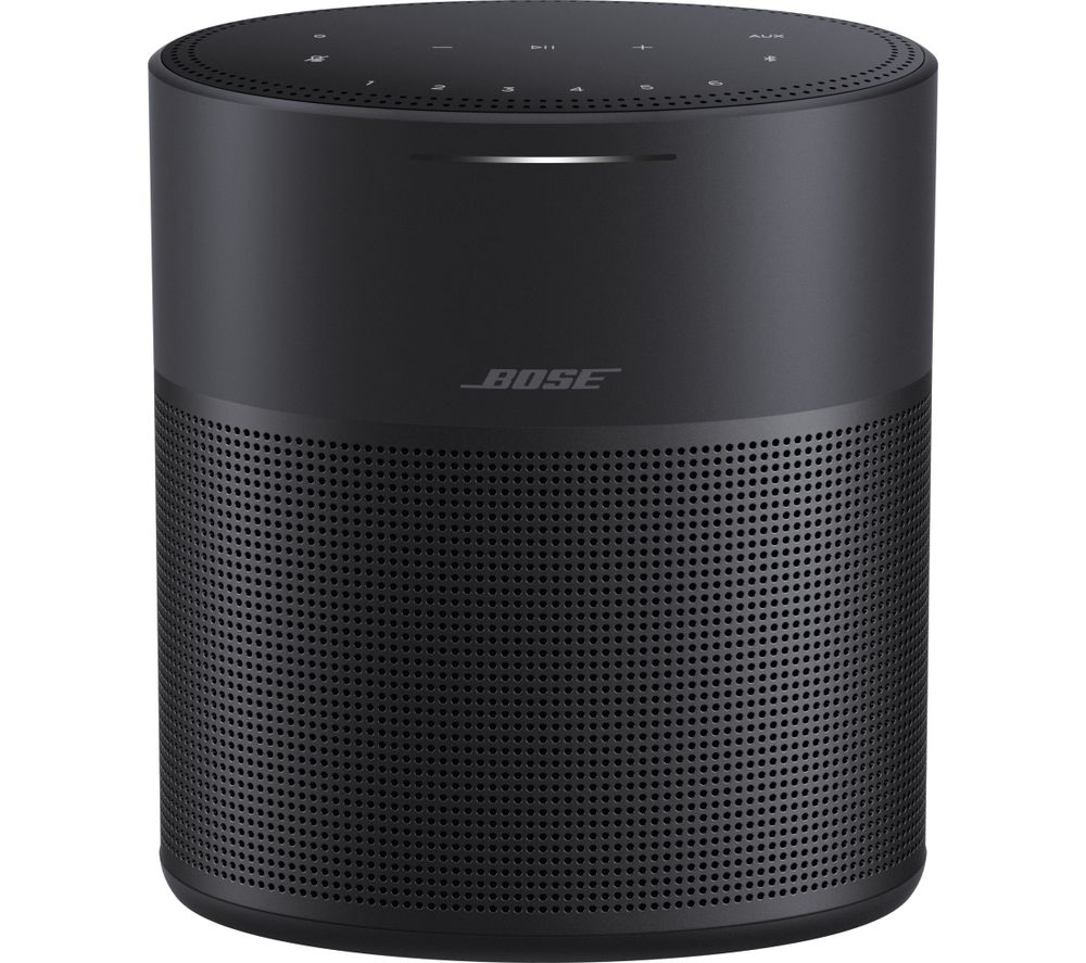 BOSE Home Speaker 300 with Amazon Alexa & Google Assistant - Black, Black