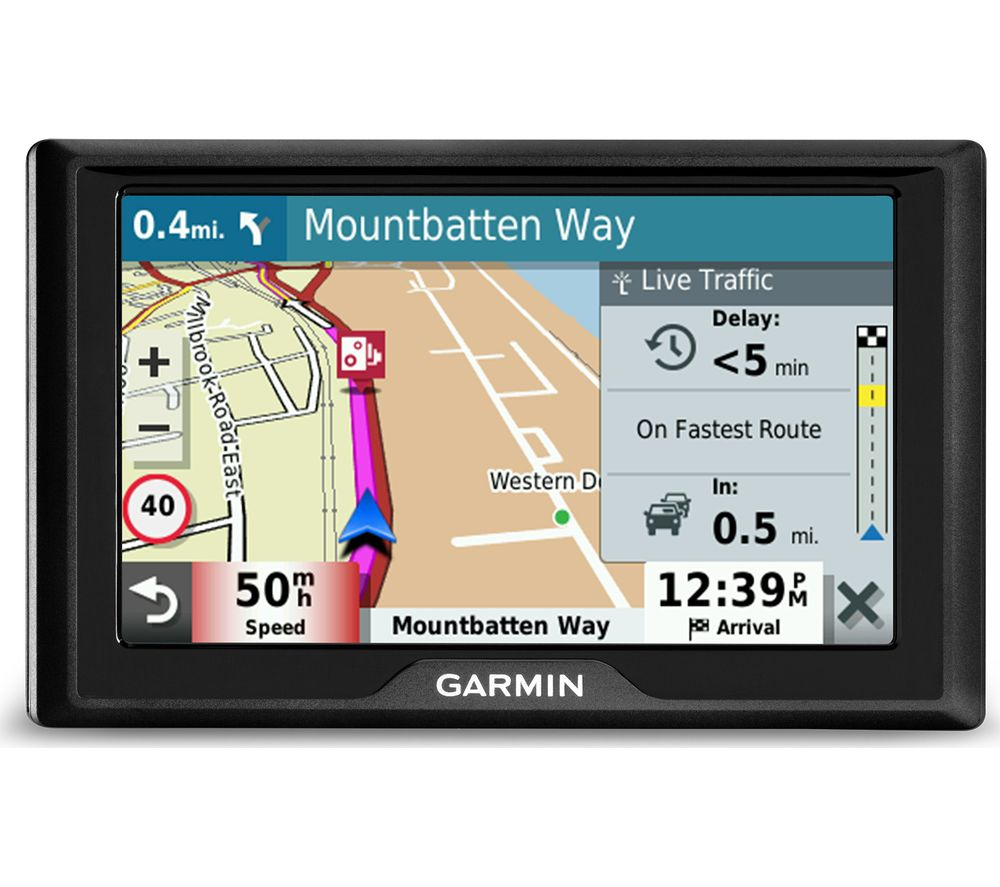 "GARMIN Drive 52 MT-S 5"" Sat Nav - Full Europe Maps"