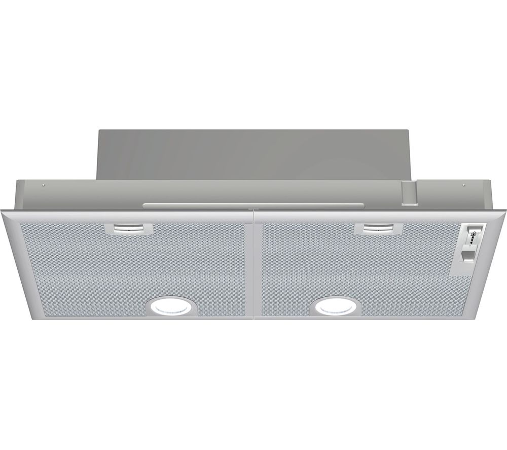 N30 D5855X1GB Canopy Cooker Hood - Silver, Silver