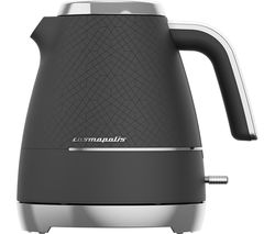Cosmopolis WKM8307B Jug Kettle - Black & Chrome