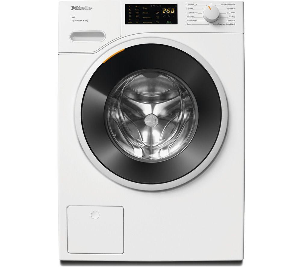 MIELE W1 PowerWash WWD 320 8 kg 1400 Spin Washing Machine - White, White