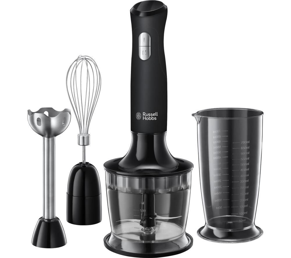Desire 24702 3 in 1 Hand Blender - Black, Black