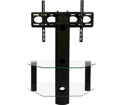 Century 800 mm TV Stand with Bracket - Black