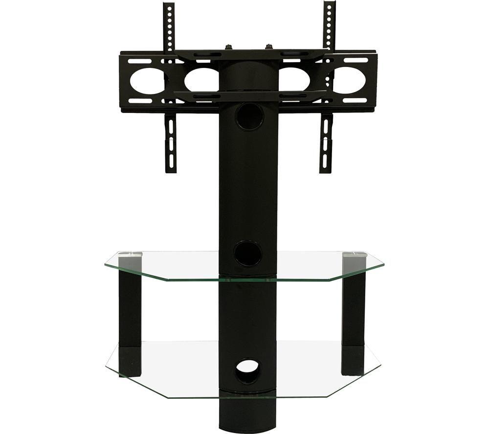 Image of ALPHASON Century 800 mm TV Stand with Bracket - Black, Black