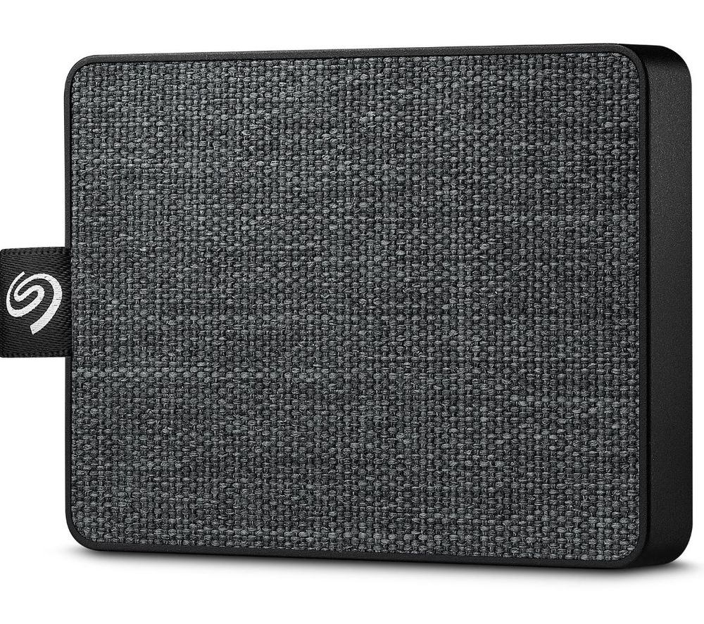 SEAGATE One Touch External SSD - 500 GB, Black