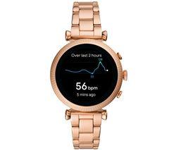 Sloan HR FTW6040 Smartwatch - Rose Gold, 40 mm