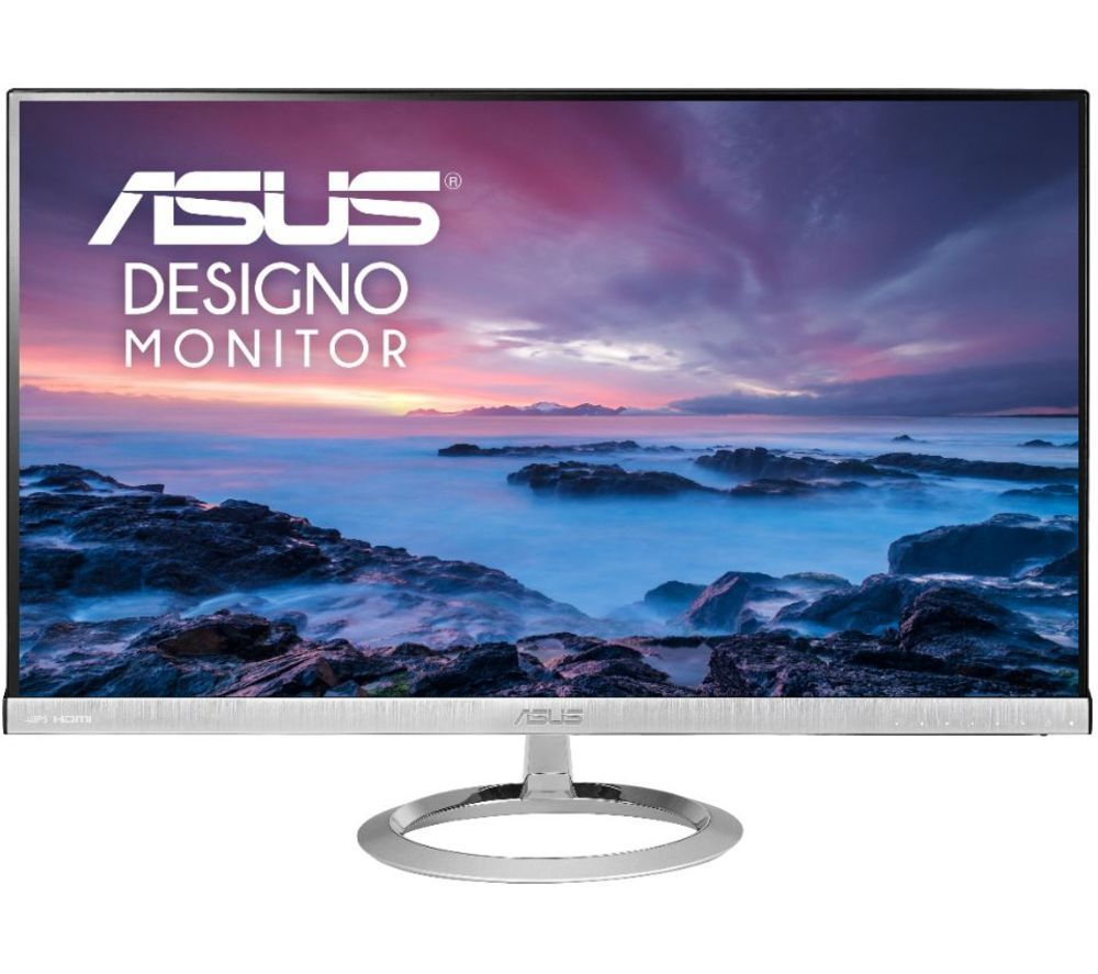 ASUS MX279HE Full HD 27 inch IPS Monitor - Silver & Black
