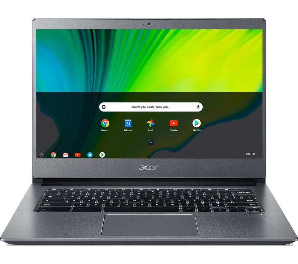 "ACER 714 14"" Chromebook - Intel® Core™ i5, 128 GB eMMC, Grey"