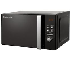 RUSSELL HOBBS RHM2063 Solo Microwave - Black Best Price, Cheapest Prices