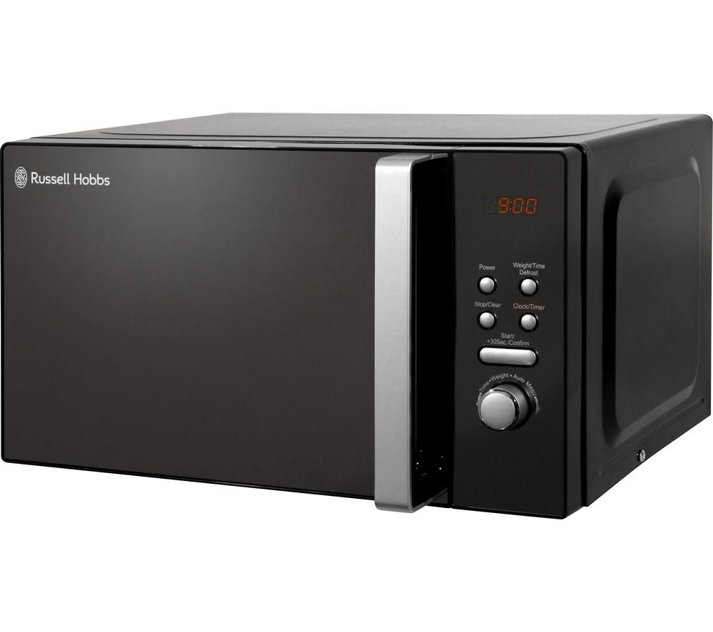 RUSSELL HOBBS RHM2063 Solo Microwave - Black, Black