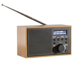 DAEWOO AVS1322 Portable DAB+/FM Retro Radio - Grey
