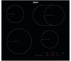 OvalZone ZHRN643K Electric Ceramic Hob - Black