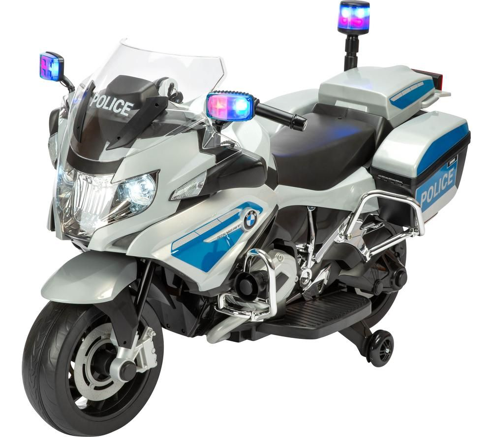 TOYRIFIC TY6106SV BMW R1200 RT-P Police Bike Electric Ride On Toy - Silver