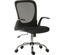 Flip Mesh Tilting Executive Chair - Black