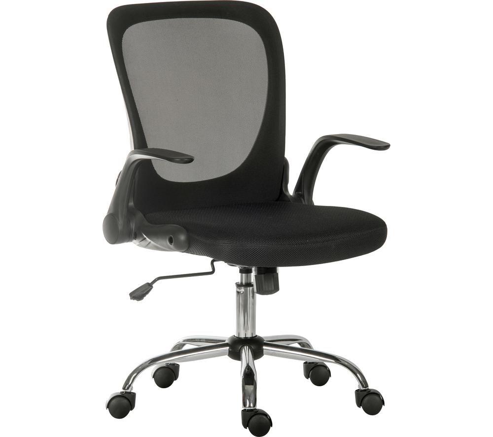TEKNIK Flip Mesh Tilting Executive Chair - Black