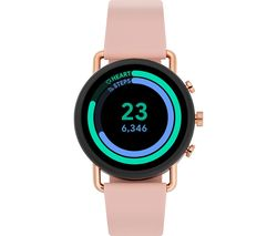 Falster 3 SKT5205 Smartwatch - Rose Gold & Pink, Silicone Strap, 42 mm