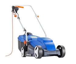 HYM3200E Corded Rotary Lawn Mower - Blue