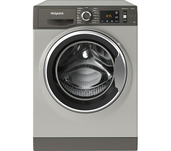 Image of HOTPOINT Activecare NM11 964 GC A UK N 9 kg 1600 Spin Washing Machine - Graphite