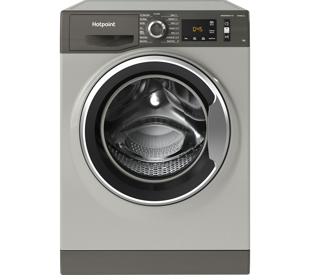 HOTPOINT Activecare NM11 964 GC A UK N 9 kg 1600 Spin Washing Machine - Graphite, Graphite