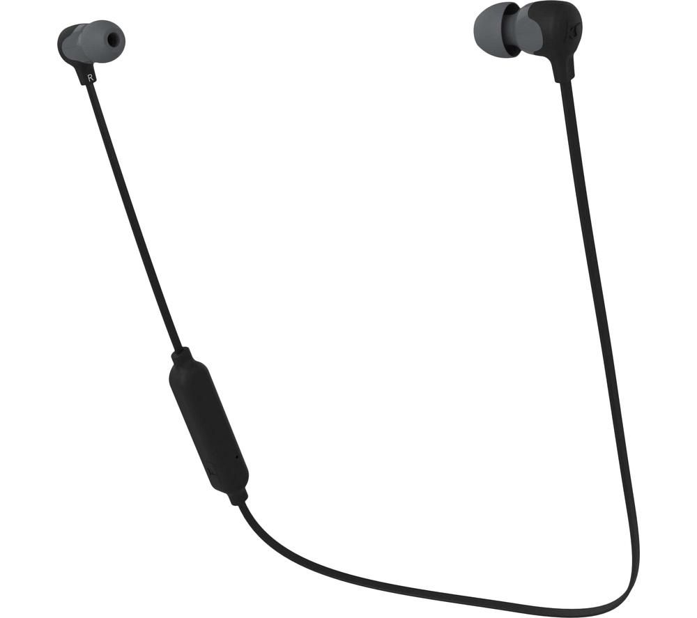 Kitsound Funk 15 KSFUN15BK Wireless Bluetooth Earphones - Black, Black