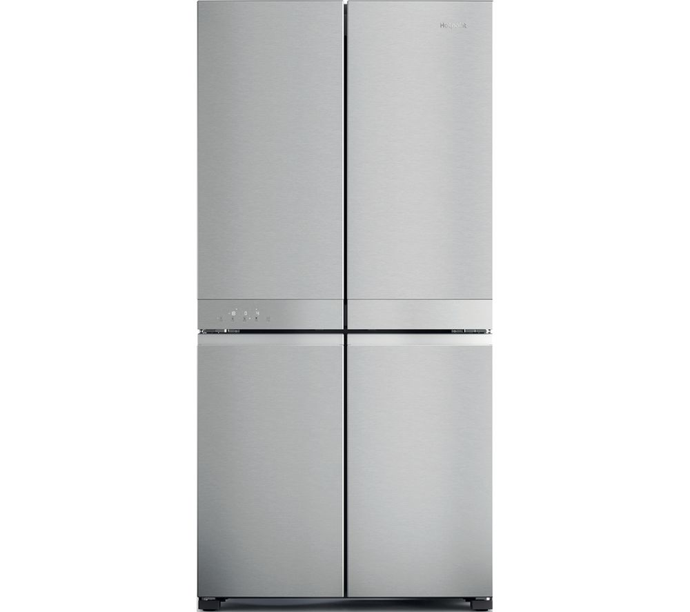 HOTPOINT HQ9 M2L UK Fridge Freezer - Stainless Steel