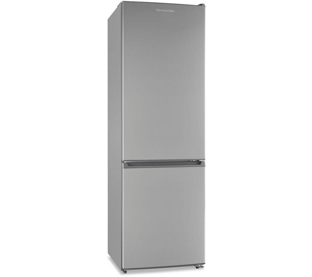 MONTPELLIER MFF18860X 60/40 Fridge Freezer - Inox
