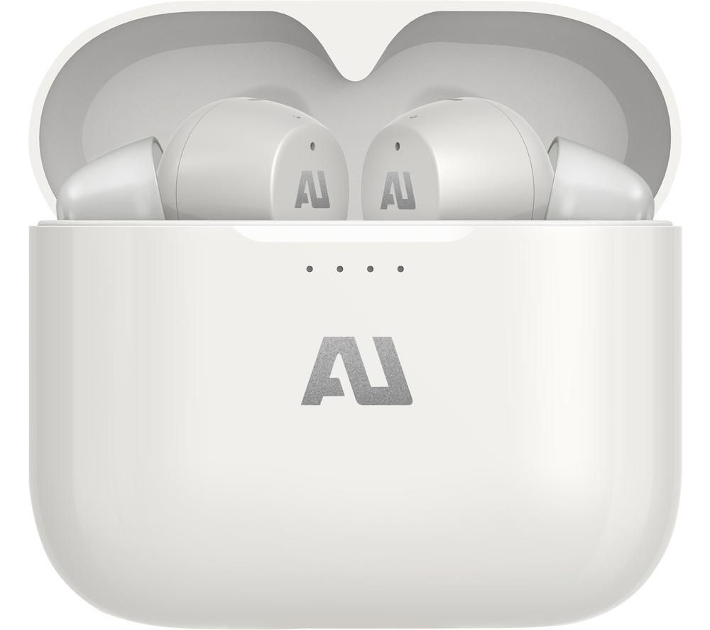AUSOUNDS AU-Stream Wireless Bluetooth Earphones - White, White