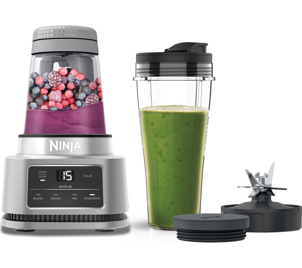 NINJA Foodi Power CB100UK Blender - Silver, Silver