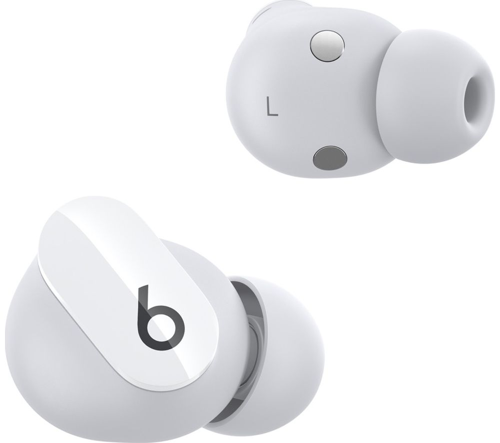BEATS Studio Buds Wireless Bluetooth Noise-Cancelling Earbuds - White