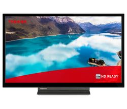 """24WD3C63DB 24"""" Smart HD Ready HDR LED TV with Built-in DVD Player"""