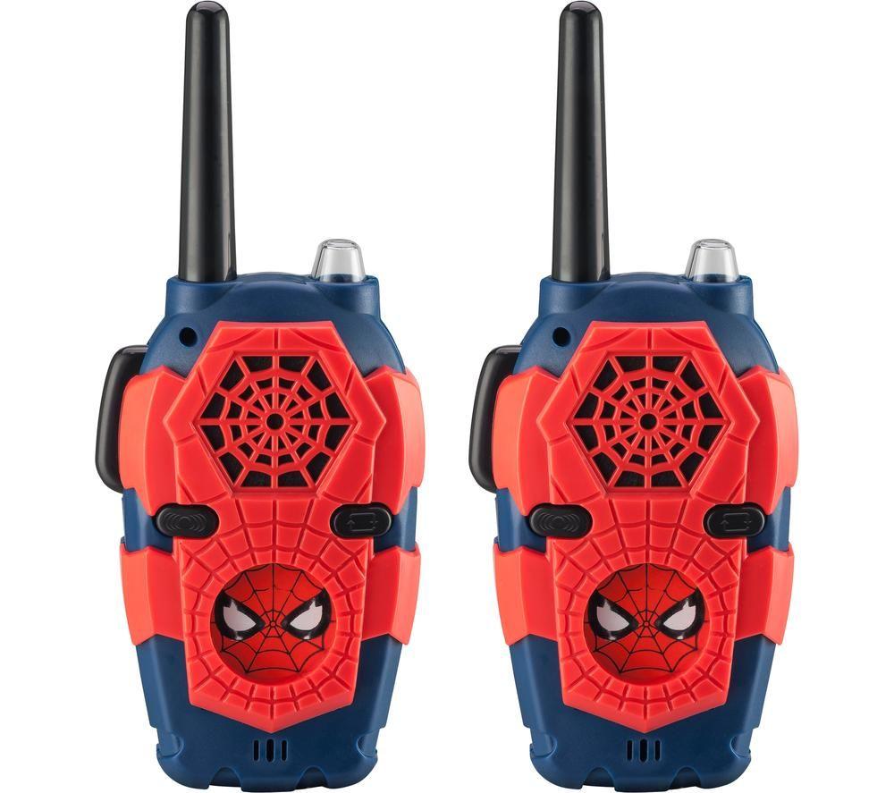 EKIDS Spiderman SM-212 Walkie Talkies - Twin Pack