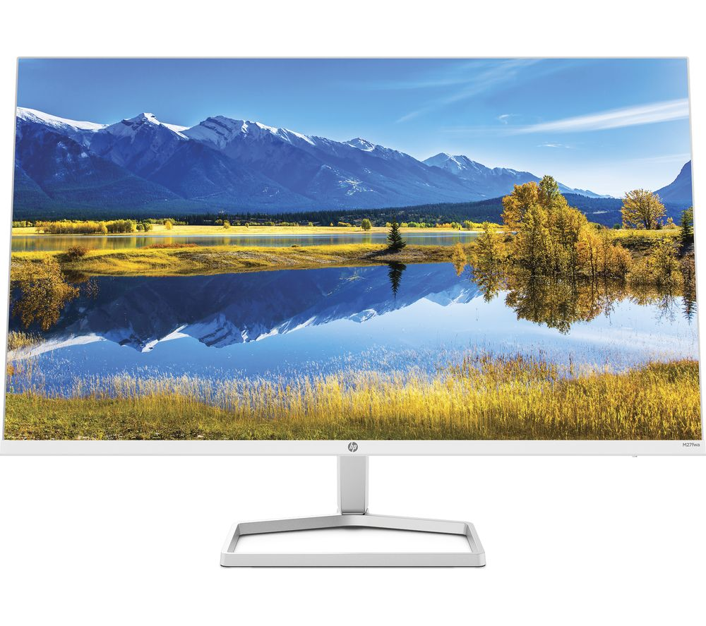 "HP M27fwa Full HD 27"" IPS LCD Monitor - White"