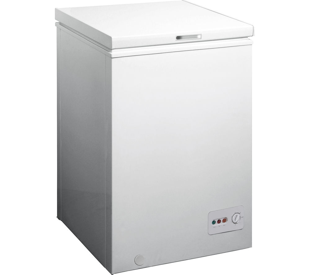 ESSENTIALS  C99CF13 Chest Freezer - White, White