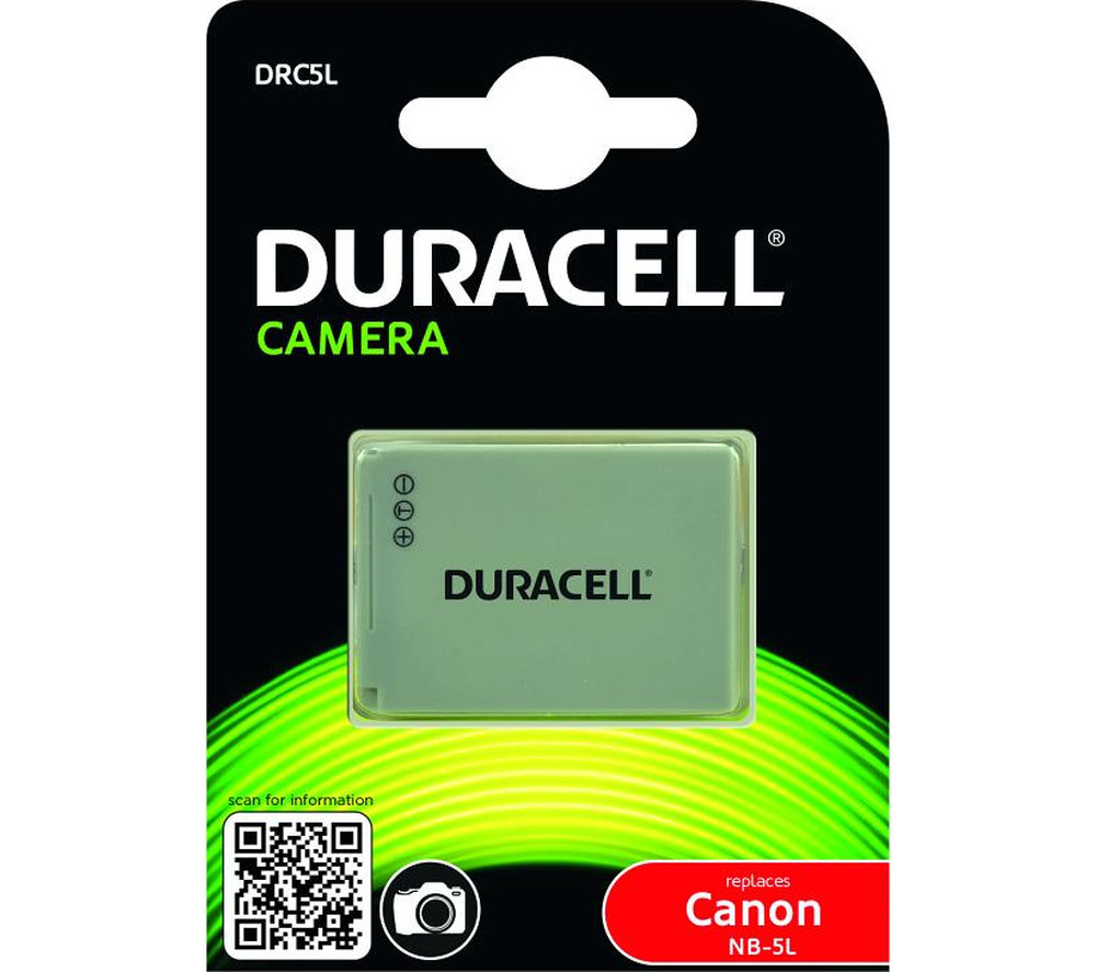 Compare retail prices of Duracell DRC5L Lithium-ion Rechargeable Camera Battery to get the best deal online