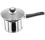 JUDGE VISTA 20 cm Draining Lid Saucepan - Stainless Steel